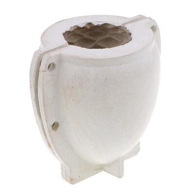 Zylindrischen Kerzenhalter Form Handgemachte 3D Handwerk Silikonform DIY Blume