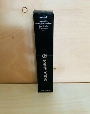 Giorgio Armani Neo Nude True-to-Skin Natural Glow Foundation Review & Swatches - Cali Beaute
