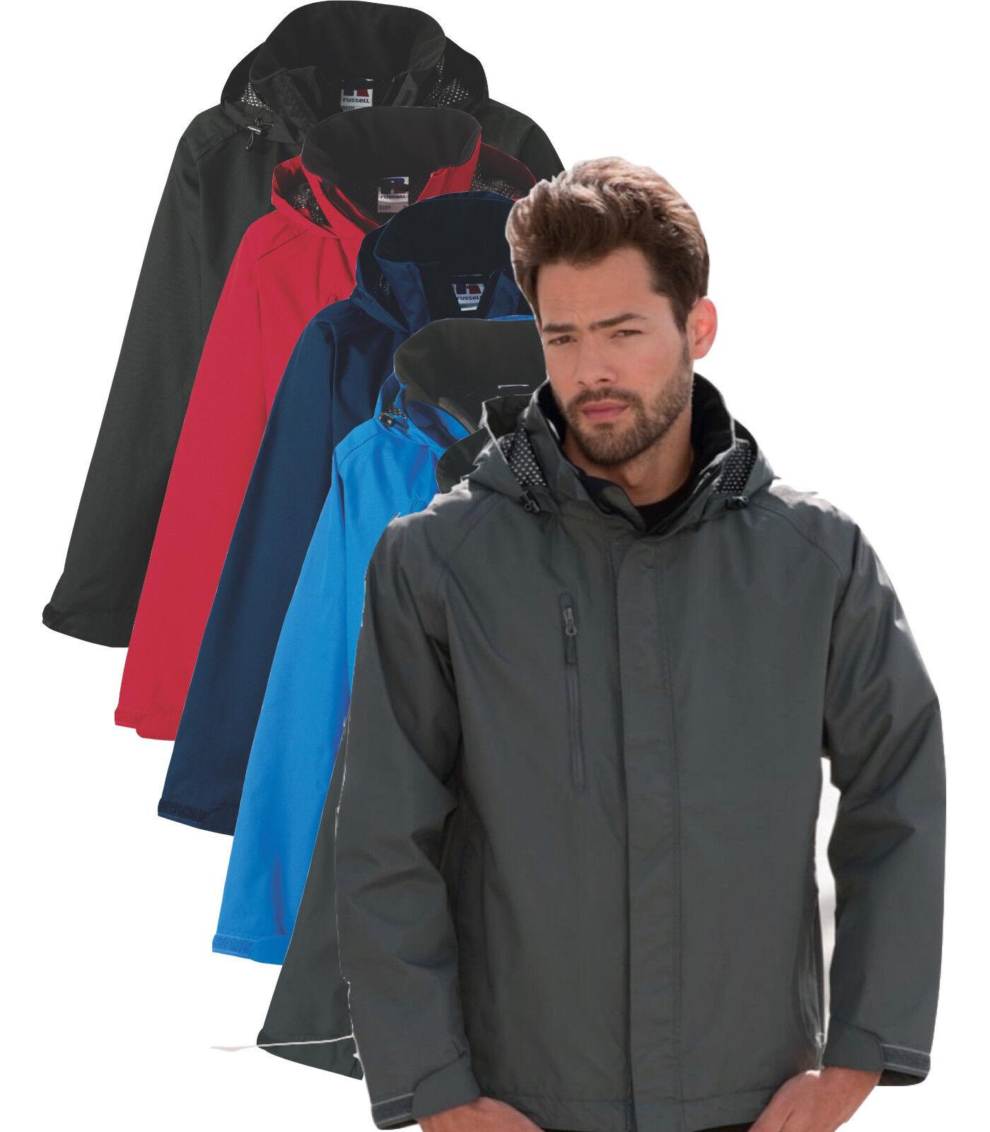 Russell 510M Mens Hydraplus 2000 Jacket Raincoat Water Resistance Winter Coat