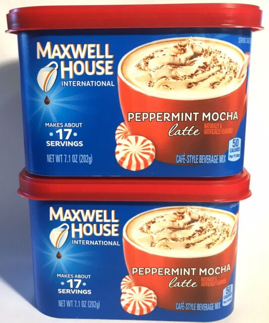 Lot Of 2 Maxwell House International Cafe Instant