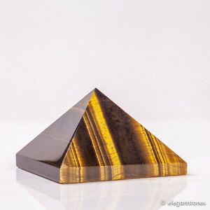 141g-57mm-Natural-Tiger-Eye-Quartz-Crystal-Pyramid-Healing-Gemstone-Chakra-Decor