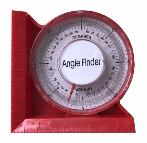 "0-5/""//120mm Magnetic Angle Locator Level /& Tool Dial Gauge Angle Finder Magnetic"
