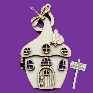 Fairy door 3d wooden curly magic house elf shapes pixie for Fairy door shapes