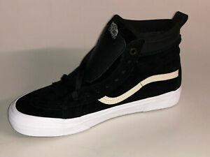 Details zu VANS Sk8 Hi Mte VN0A33TXRIX1 Black Night True White Schwarz