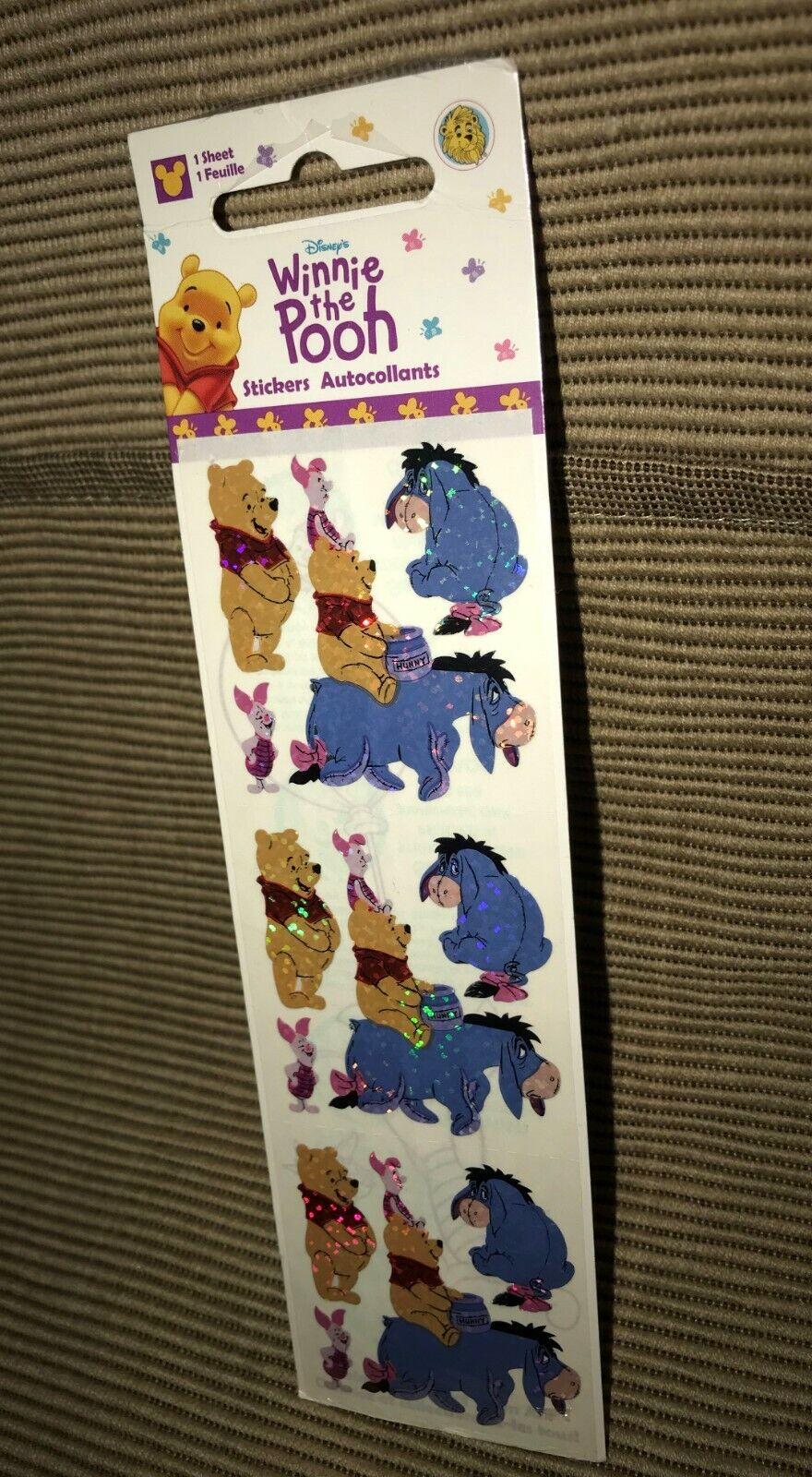 SandyLion sticker sección Prismatic 90s Disney Pooh Puh sticker album cromos