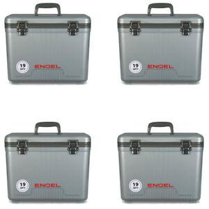 Engel 19 Quart Lightweight Bait Dry Box Ice Cooler With Shoulder