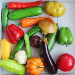 Lifelike-Decorative-Plastic-Artificial-Fake-Fruit-Vegetables-Home-House-Decor