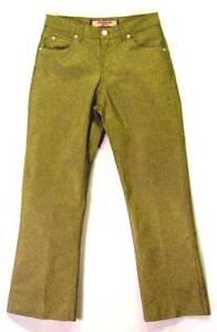 GOLD-DUSTED-Classic-Rise-Boot-Cut-PARIS-BLUES-Vintage-1980s-Club-JEANS-Pants-7