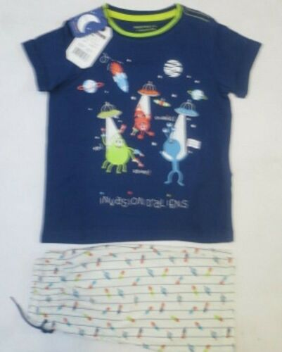 Boys pyjama short summer 2 3 4 5 6 7 8 years SERGENT MAJOR RRP £16