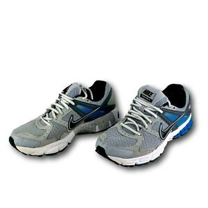 check out 97b5d 16c65 NIKE Shoes Structure 14 Gray/Black/Blue Sneakers Mens Size ...