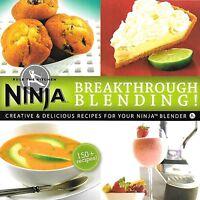 Ninja Blender Cookbook Breakthrough Blending 150 Delicious Recipe Cook Book on Sale