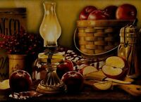 York Cracker Barrel Apple Basket Wallpaper Border Ke4914b
