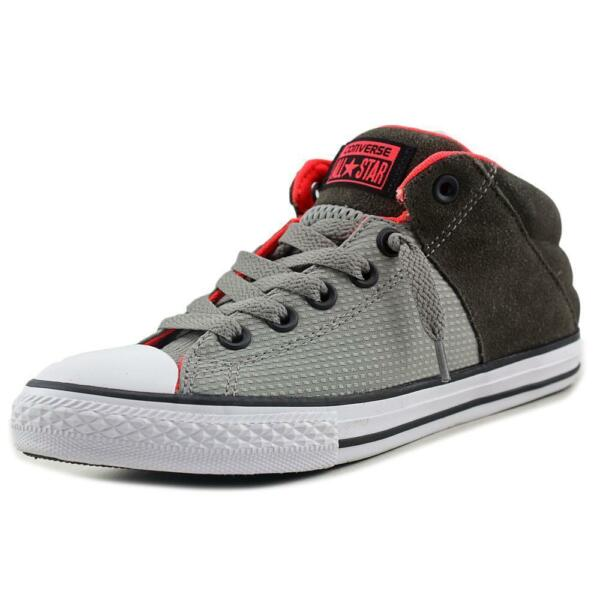 a82bae19d6e4 Converse Chuck Taylor All Star Axel Mid Boys Cadet Grey crim SNEAKERS 5 M  for sale online
