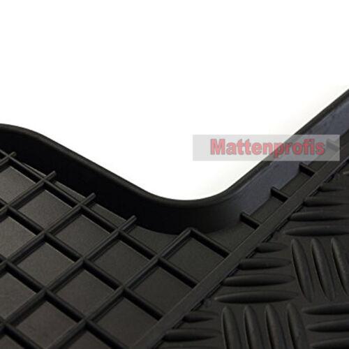 Caoutchouc tapis caoutchouc tapis de sol 3 pièces pour Opel vivaro encadré f7 ab Bj 2001-2014