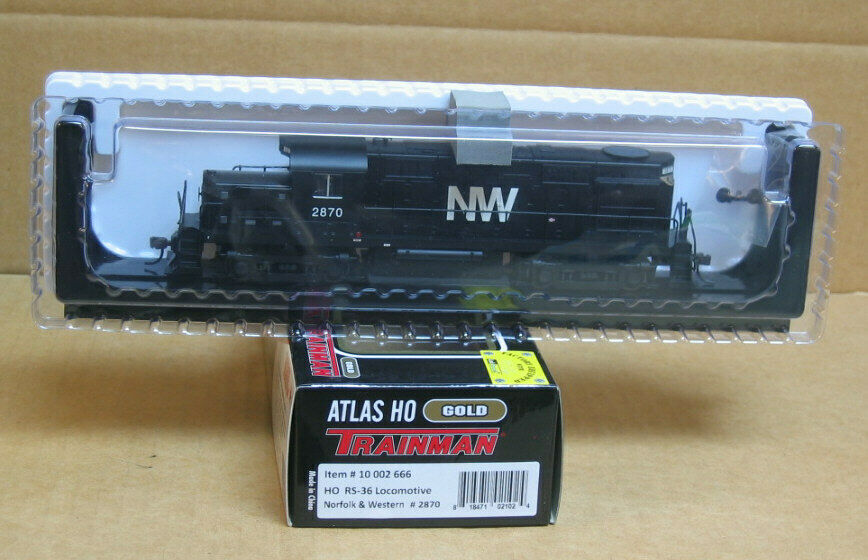 ATLAS 10 002 666 HO Norfolk & WESTERN RS36  2870