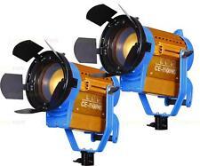 New Nicefoto 2 x CE-1500WS LED Studio Fresnel Light Photo Video