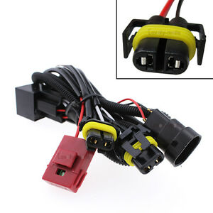 s l300 1pc h11 h8 h9 hid conversion relay wiring harness for fog light Electrical Harness Connectors at n-0.co