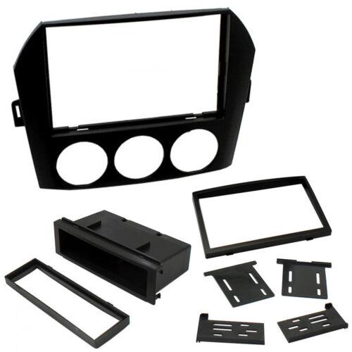 CT24MZ08 Mazda MX5 Miata NC 06-15 Single// Double Din Car Radio Fascia Panel Kit