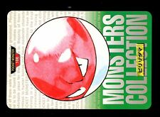 POKEMON BANDAI 1996 GREEN MONSTERS COLLECTION N°  100 VOLTORB VOLTORBE