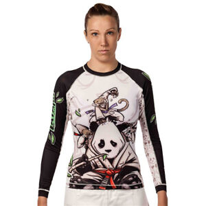 Sporting Goods Tatami Fightwear Women's Gentle Panda Rashguard Relieving Heat And Thirst.