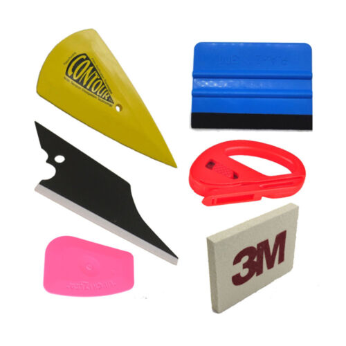 Green Tail Fin Hand Squeegee Car /& Window Tinting Fitting Tool Soft