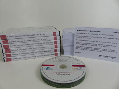 Sorglos-Paket Geprüfte//r Technische//r Fachwirt//in IHK Prüfungsbereich I