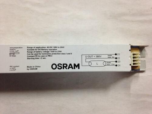 OSRAM Quicktronic Electronic Ballast T8 1 x 36W QTP8