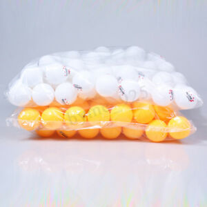 Orange-White-100Pcs-3-Stars-40mm-Olympic-Table-Tennis-Balls-Ping-pong-Balls