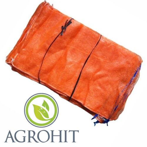 Raschelsäcke 30 St//15kg Fruchtsäcke,Kartoffelsäcke Raschelsäcke mit Zugband
