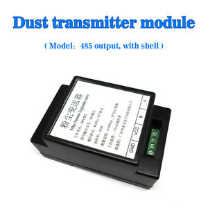 Au-RS485-Sortie-Sharp-Poussiere-Capteur-Module-PM2-5-Transmetteur-Boite
