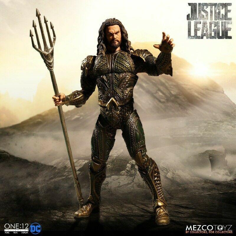 One 12 collettiva   DC film della Justice League AQUAuomo azione cifra  presa di fabbrica