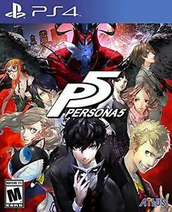 Persona 5 PlayStation Hits Standard Edition For PlayStation 4 PS4 PS5 RPG