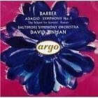 Samuel Barber - Barber: Adagio; Symphony No. 1; The School for Scandal; Essays (1992)