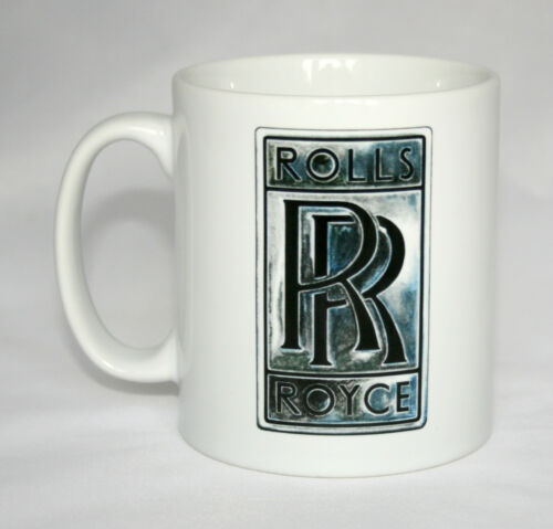 Car Badge Mug Rolls Royce badge illustration.