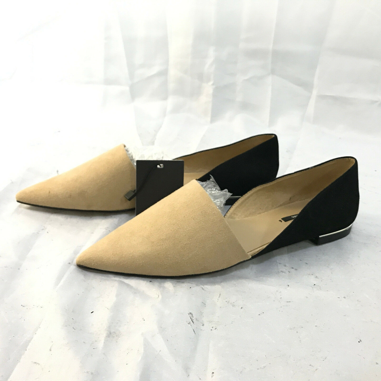 NEW ZARA TWO-TONE schuhe, schuhe, TWO-TONE Größe 4 UK 4f87d9