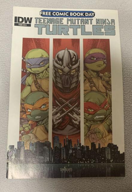 Teenage Mutant Ninja Turtles 2015 Free Comic Book Day IDW FCBD Very Good +