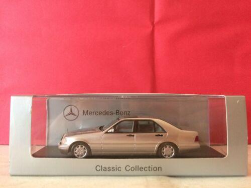 Superbe Mercedes Benz S Class 1/43 Neuf Boite Ab3