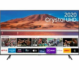 "SAMSUNG UE43TU7100KXXU 43"" Smart 4K Ultra HD HDR LED TV - Currys"