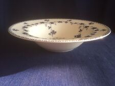 """Royal Doulton Yorktown (smooth)  8 1/8"""" rimmed soup bowl- minor glaze scratches"""
