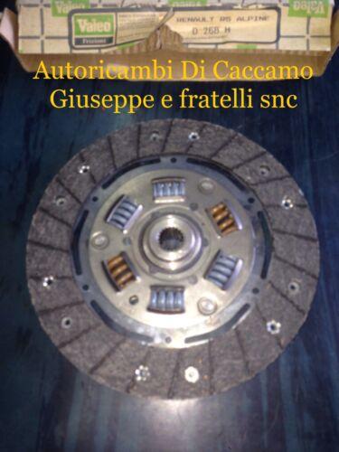 DISCO FRIZIONE RENAULT R5 ALPINE TURBO DIAMETRO 190 VALEO D268//H
