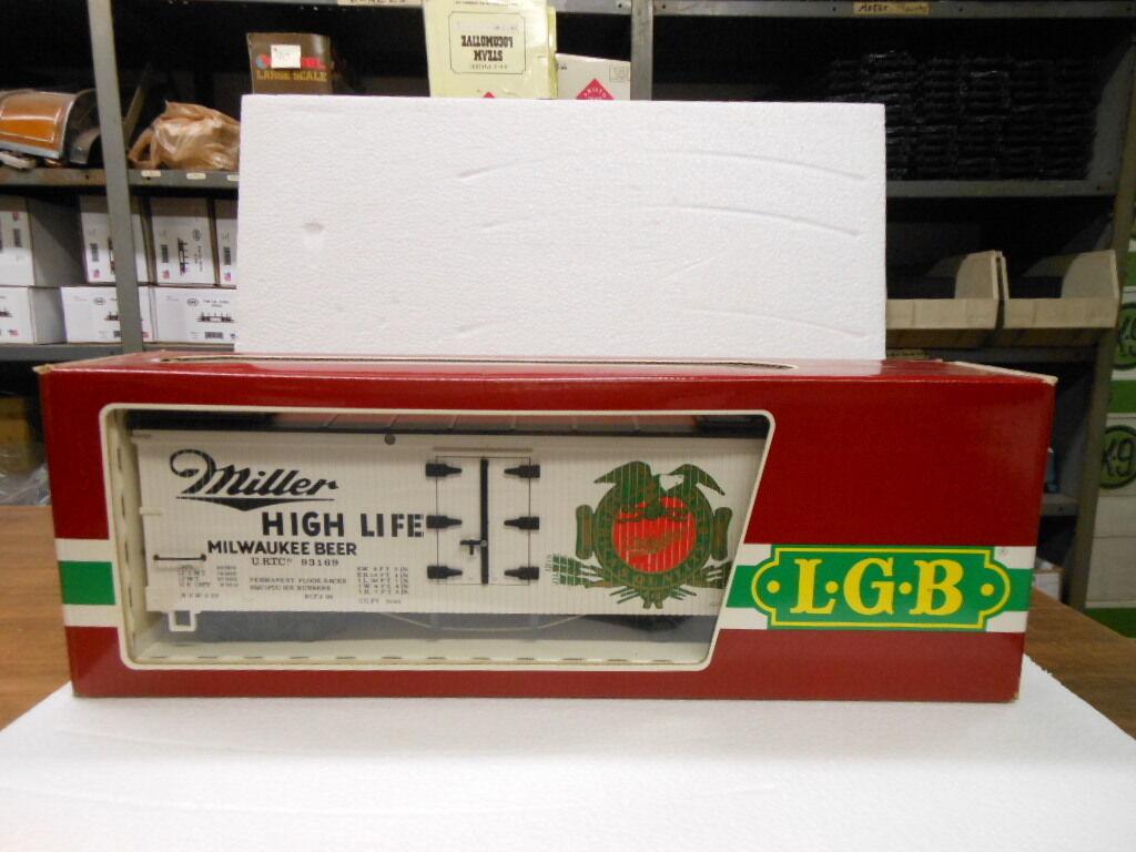 Lgb Escala G 4072 Caja Coche-miller Cerveza
