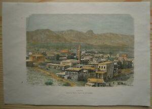 1884 Reclus print KYRENIA, CYPRUS (#62)
