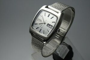 Vintage 1972 JAPAN SEIKO LORD MATIC WEEKDATER 5606-5040 25Jewels Automatic.