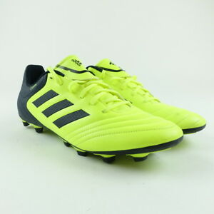48e62a69f7d Adidas Size 13 Soccer Cleats Mens Copa 17.4 FxG Shoes Yellow Black ...