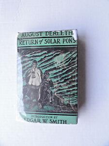 Arkham-House-The-Return-Of-Solar-Pons-Mycroft-amp-Moran-HC-DJ-First-Edition