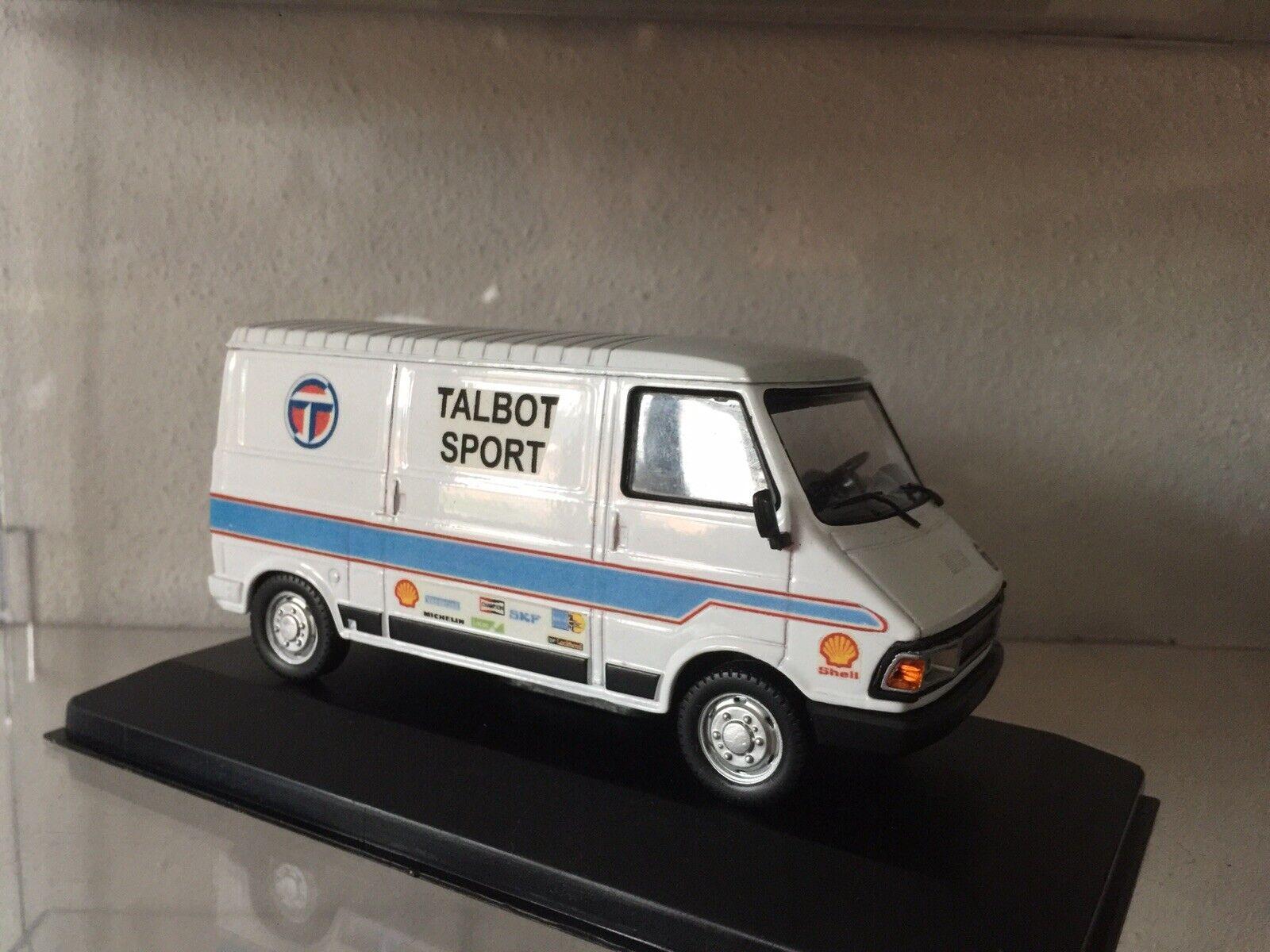 Die Cast 1 43 Peugeot J5 Assistance Rallye Team Talbot Sport Handmade