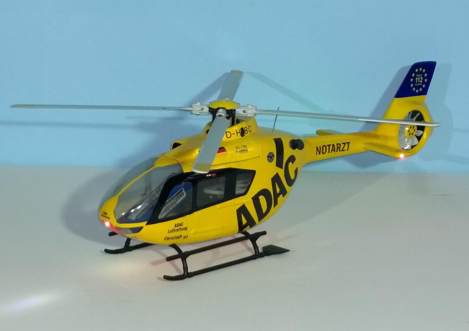 Fuselage-Kit Eurocopter EC EC EC 135 ADAC 1:18 pour Blade 230 S/250cfx, etc. a8e580