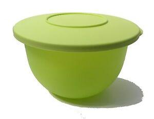 tupperware junge welle sch ssel 1 3 liter gr n salatsch ssel mit deckel neu ebay. Black Bedroom Furniture Sets. Home Design Ideas