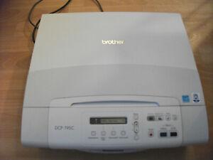 Brother-Drucker-DCP-195C-Multifunktionsgeraet-mit-Scanner-funktioniert-LC980