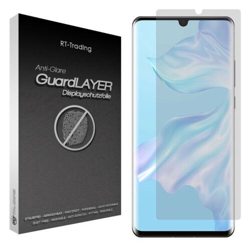 Huawei p30 pro-anti fingerprint recubrimiento protector protector de pantalla Lámina protectora mate